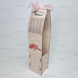 Коробка для вина с фотопечатью