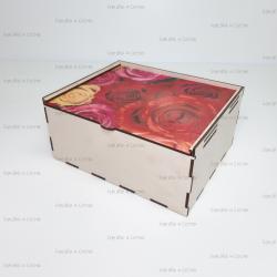 Коробка для подарка с фотопечатью