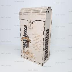 Коробка для двух бутылок