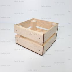 Деревянный ящик 130*130*95мм