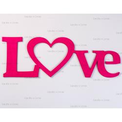 """Фоторамка """"Love розовая"""""""