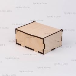 Коробка из фанеры 115*85*50мм