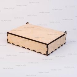 Коробка из фанеры 190*130*45мм