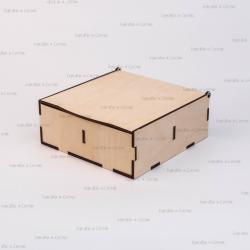 Коробка из фанеры 150*150*55мм