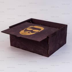 Коробка с выдвижной крышкой