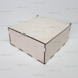 Коробка из фанеры 210*210*90мм