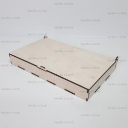 Коробка из фанеры 260*150*30мм