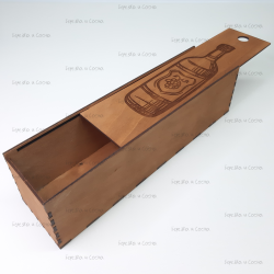 Коробка из фанеры для вина