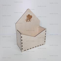 """Коробка для цветов """"конверт"""""""