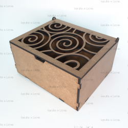 Коробка подарочная с узором