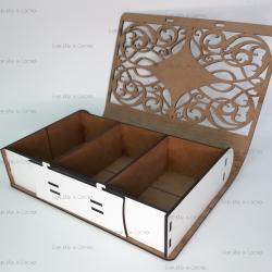 Коробка-книжка из фанеры