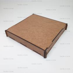 Коробка из фанеры без нанесения